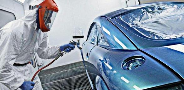 Покраска автомобиля вавтосервисе «Мегасервис»