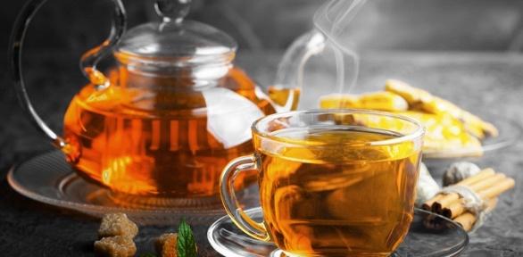 Чайная церемония счаем идвумя десертами для двоих всалоне чая «ПуЭр»