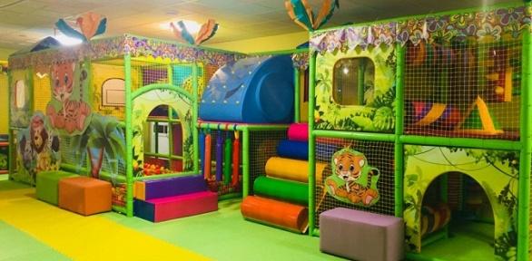 Посещение детской игровой площадки отдетского центра «Маленький принц»