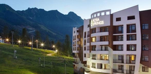 Отдых вСочи создоровлением вотеле Medical SPA Hotel Rosa Springs