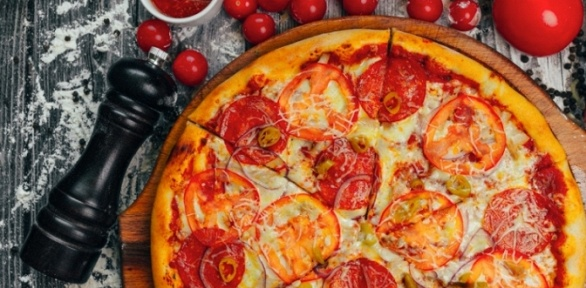 Пицца диаметром 25и33см отресторана SpartaPizza заполцены