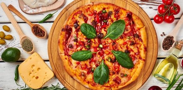 Пицца диаметром 35см отпиццерии Family заполцены