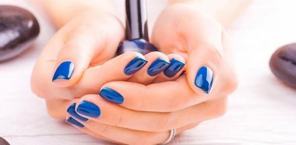 Маникюр ипедикюр спокрытием гель-лаком вкабинете Diamond Nails
