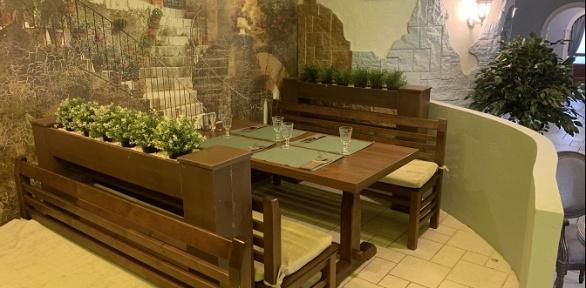 Меню кухни вArt Cafe «Галерея»