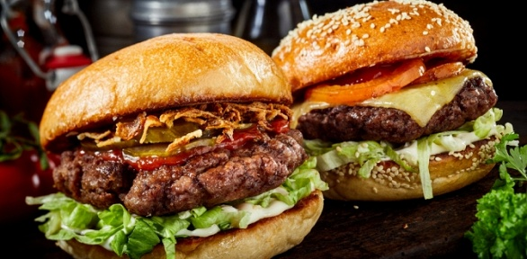 Всё меню бургеров ипицц отEvery Day Burgers заполцены
