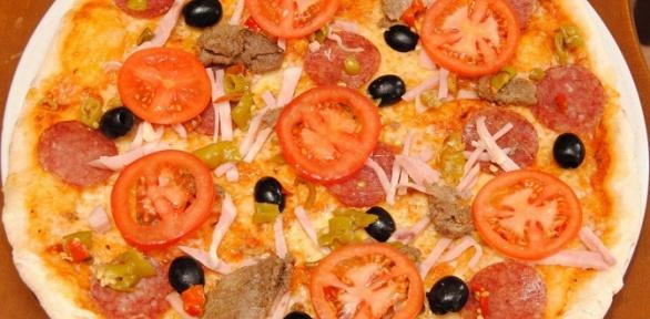 Пицца инапиток отсети пиццерий Pizza Gusto