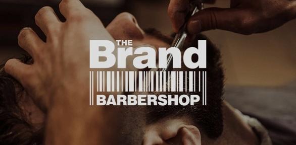 Мужская стрижка, моделирование бороды или бритье вбарбершопе The Brand
