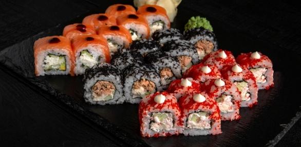 Всё меню отслужбы доставки Sushi for You заполцены