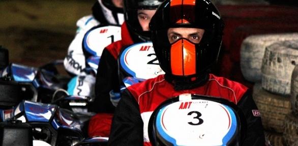 2или 3заезда накарте для одного человека откартинг-центра Аrt-Racing