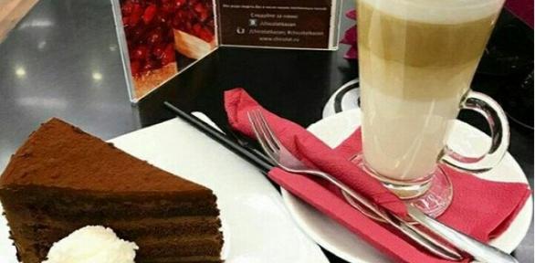 Кофе или чай сдесертами навыбор для одного или двоих вкофейне Chicolat