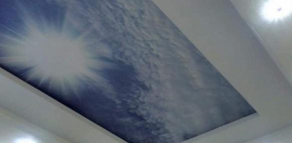 Изготовление имонтаж натяжного потолка
