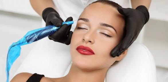 Перманентный макияж, коррекция иокрашивание бровей всалоне «Леди»