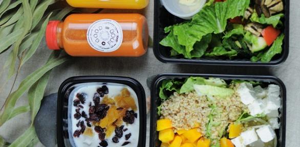 Набор правильного питания разной калорийности