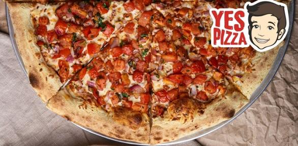 Доставка пиццы отресторана сети Yes Pizza заполцены