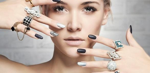 Маникюр ипедикюр или наращивание ногтей встудии Vilde Beauty Studio