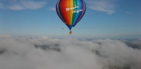 Полет навоздушном шаре для одного отклуба Magic Flight