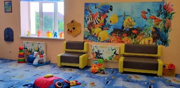 Посещение игровой зоны, праздник вигровой комнате «Веселые осьминожки»