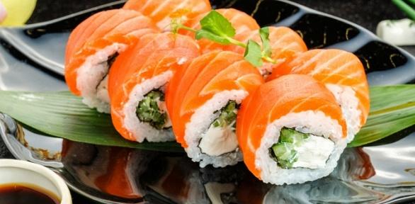 Сет отслужбы доставки суши «Посуши— Ешь иИграй»