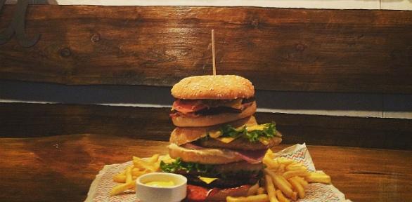 Пенная вечеринка сбургерами вбаре Extreme