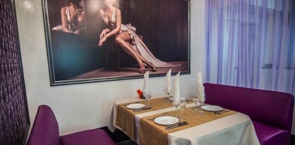 Романтический или дружеский ужин вкафе «Эгоист»