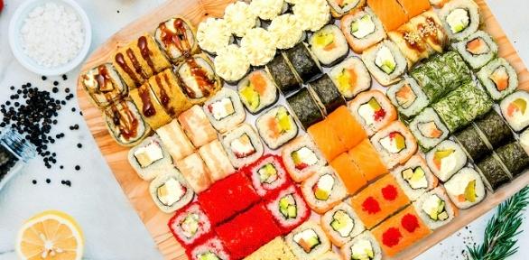 Все суши ироллы сдоставкой отсуши-бара «Суши даром» заполцены