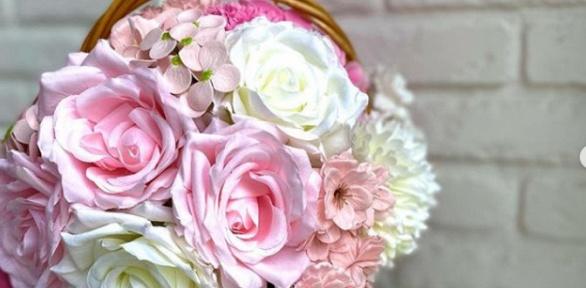 Декоративный цветочный светильник