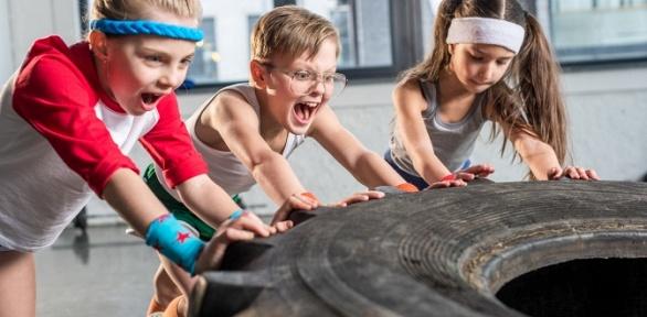 12занятий вдетской фитнес-студии Stars Gym only for Kids