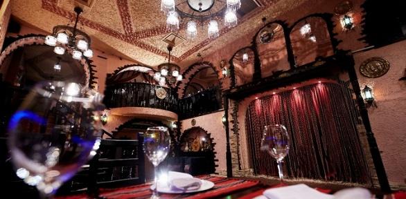 Всё меню и напитки с подарком в кафе «Марракеш Lounge» за полцены