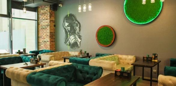 Блюда, напитки, паровые коктейли вбаре «Мята Lounge Почтовая» заполцены
