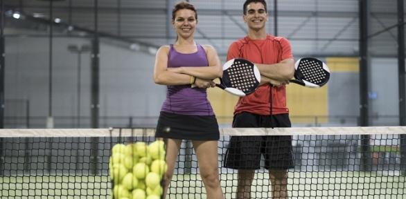 Занятия большим теннисом всети клубов Liga Tennis