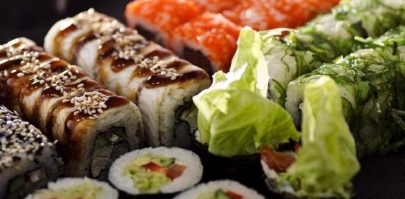 Всё меню суши-бара отресторана Fire Fish
