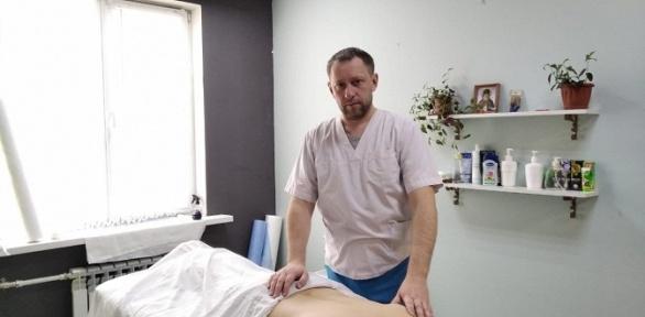 Сеансы массажа вкабинете массажиста Dr. Shakhmaev
