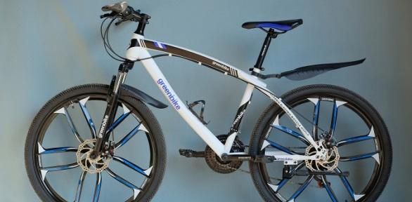 Велосипед Green Bike налитых дисках навыбор
