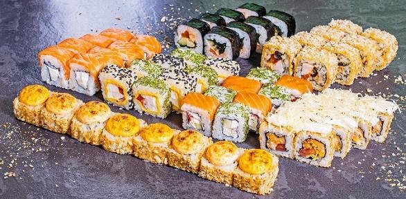Суши-сеты откафе PizzoShi заполцены