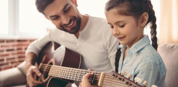 Занятия вокалом, игрой нагитаре, фортепиано, ударных вшколе «Виртуозы»