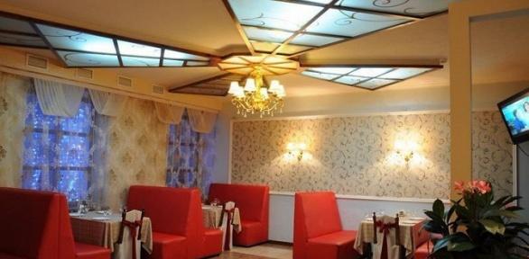 Ужин ссалатом, горячим блюдом инапитками вкафе «Мельница»