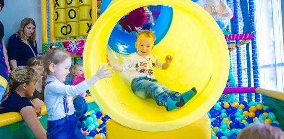 2часа посещения детского развлекательного центра «Леоландия»