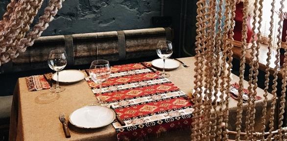 Ужин вкавказском ресторане «Байрай»