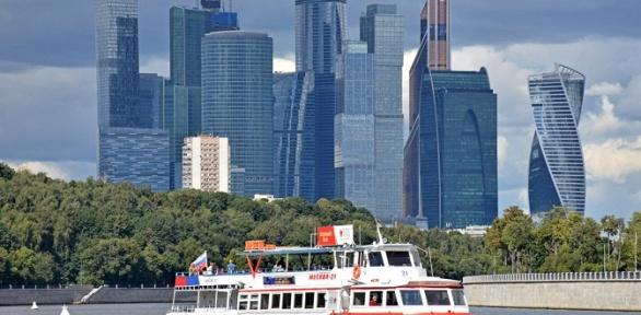 Прогулка натеплоходе откомпании «Московская Судоходная Компания»