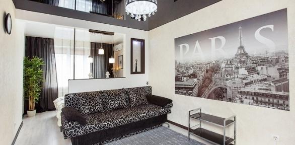 Отдых вапартаментах «Люкс» для двоих отсети апартаментов Sutki Life