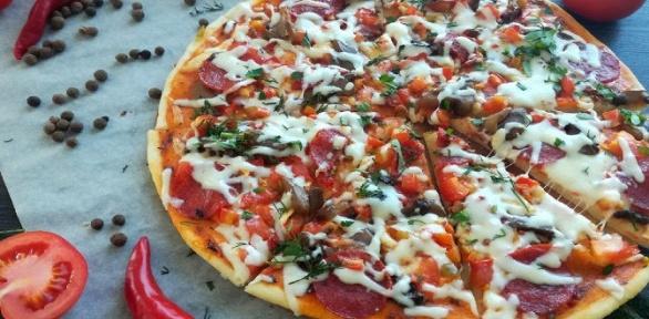 Пицца иламаджо отдоставки «Аладжин» заполцены