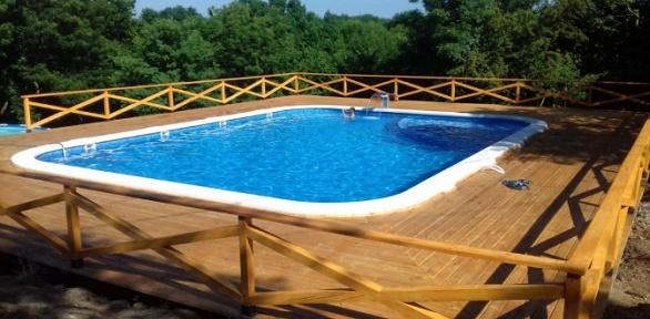 Целый день посещения бассейна или аренда беседки наэкоферме «Мечта»