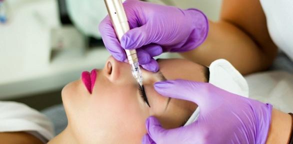 Перманентный макияж или удаление татуажа ремувером всалоне HiTech Beauty