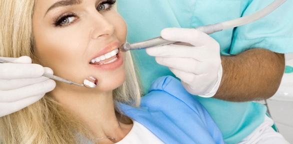 УЗ-чистка зубов или чистка AirFlow встоматологии «911»