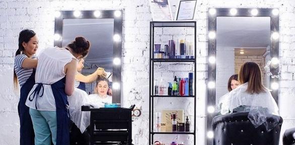 Стрижка, окрашивание волос всети салонов Pudra