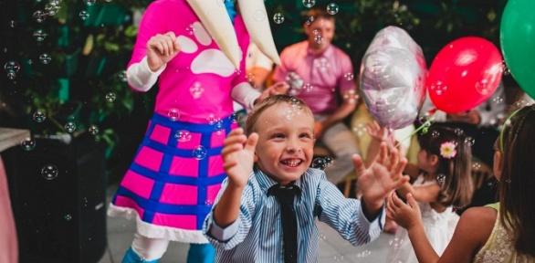Проведение детского праздника отагентства «Бумфетти»