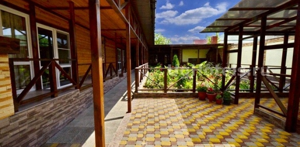 Отдых вАнапе спользованием зоной барбекю вгостевом доме «Алирина»
