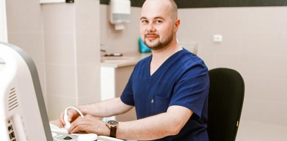 Прием флеболога иультразвуковое сканирование вен ног вклинике «Юхелф»