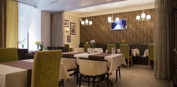 Романтический ужин витальянском кафе «ЧинЧин»