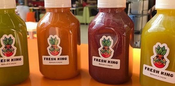 Молочные коктейли, фреши, смузи ифреш-миксы отFresh King